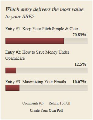 The Supplier Spotlight Closing Poll for July 2012